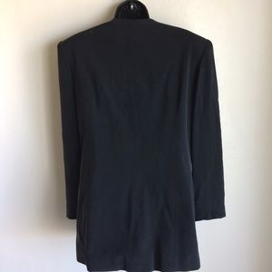 Travis Ayers Jackets & Coats - Black Silk Lined Jacket Travis Ayers Size 12